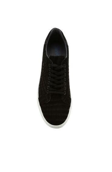 Süet Siyah Sneaker