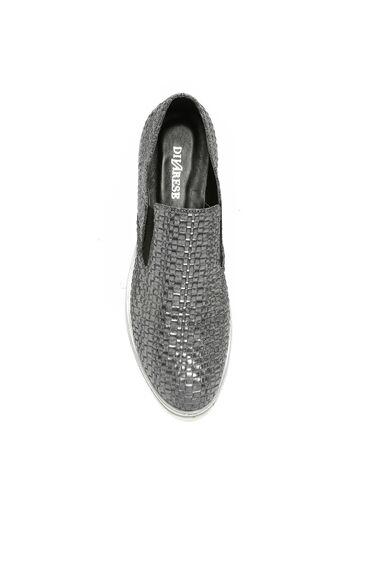 Örgü Antrasit Ayakkabı