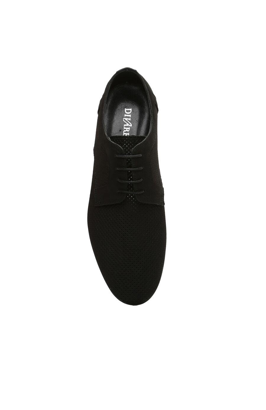 Delikli Siyah Erkek Ayakkabı