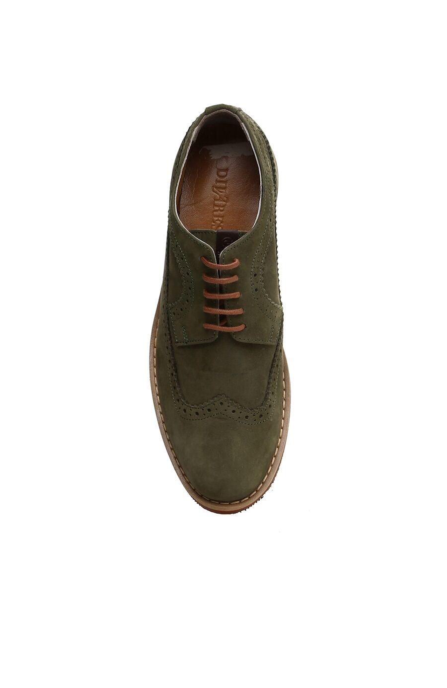 Nubuk Haki Erkek Ayakkabı