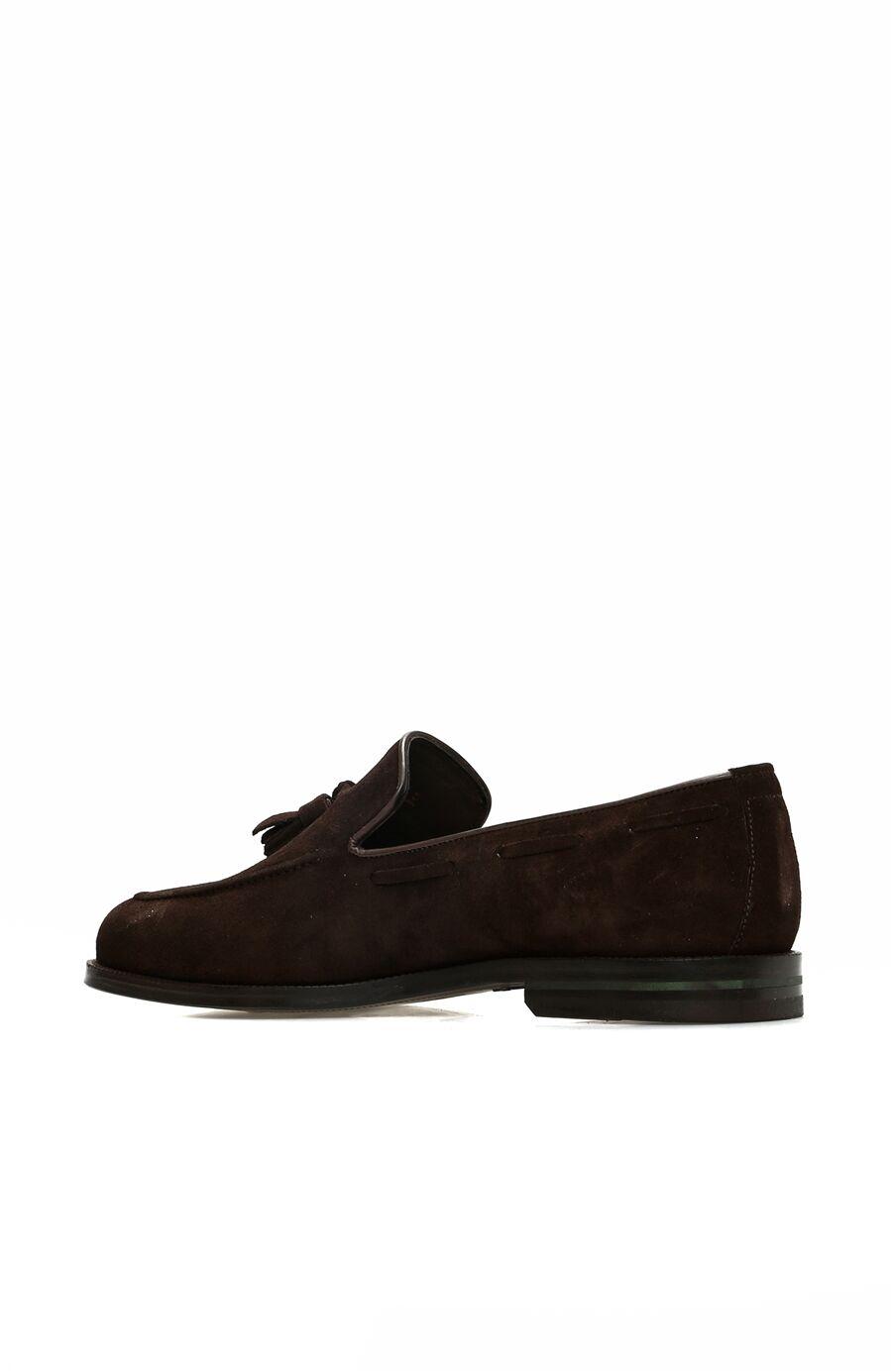 Kahverengi Süet Erkek Loafer