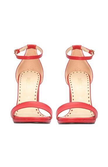 Kırmızı Kadın Sandalet