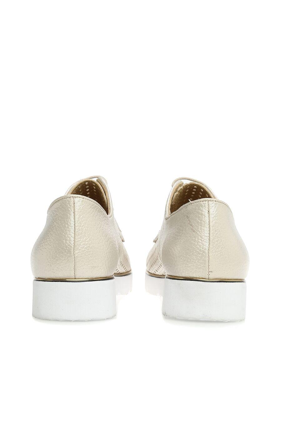 Delikli Bej Kadın Ayakkabı