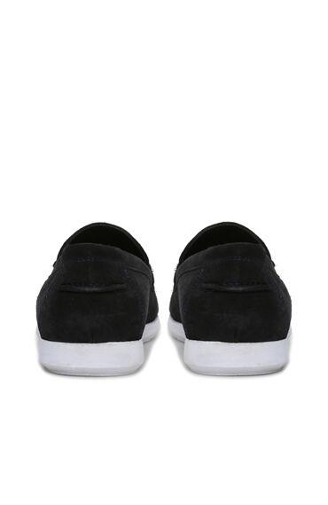 Süet Lacivert Erkek Loafer