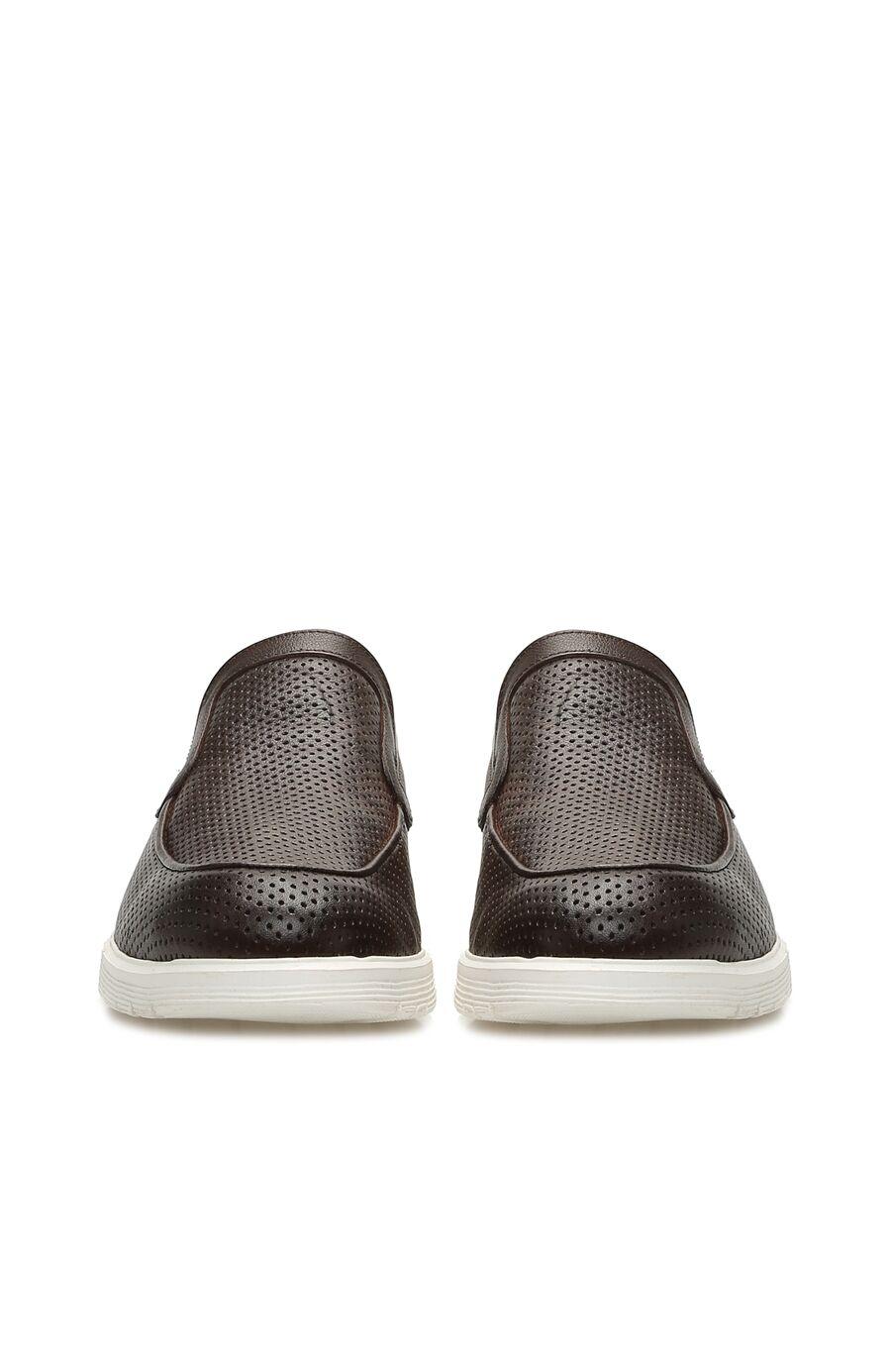 Delikli Kahverengi Erkek Ayakkabı