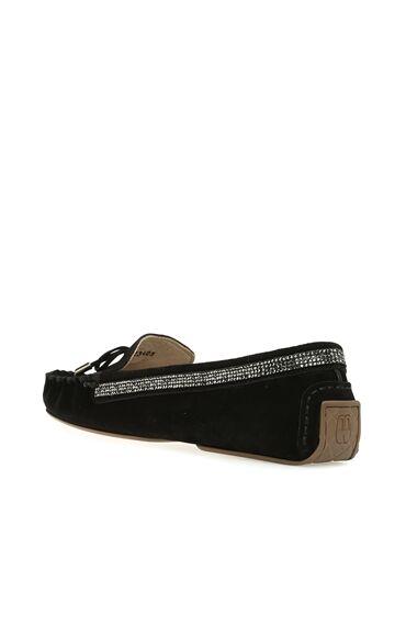 Süet Siyah Kadın Loafer