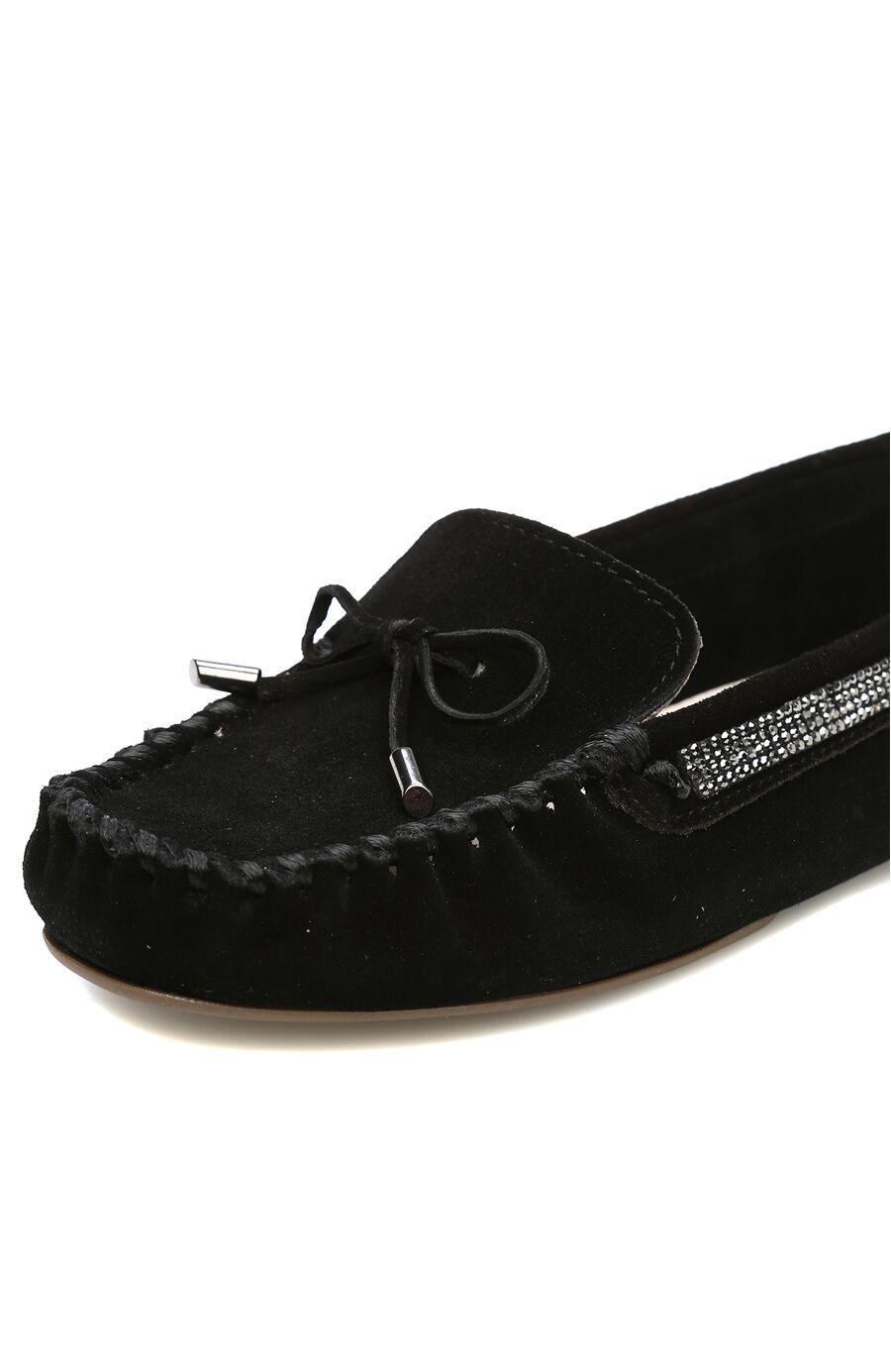 Süet Siyah Loafer