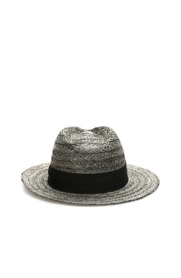 Siyah Hasır Erkek Şapka