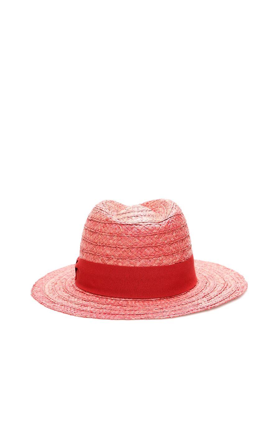 Kırmızı Hasır Erkek Şapka