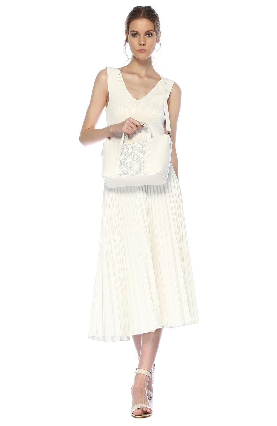 Mehry Mu x Divarese Narciso Beyaz Kadın Çanta