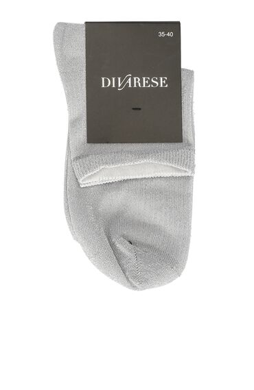 Gri Kadın Çorap