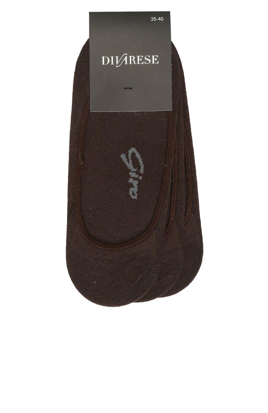 Kahverengi 3'Lü Kadın Çorap Set