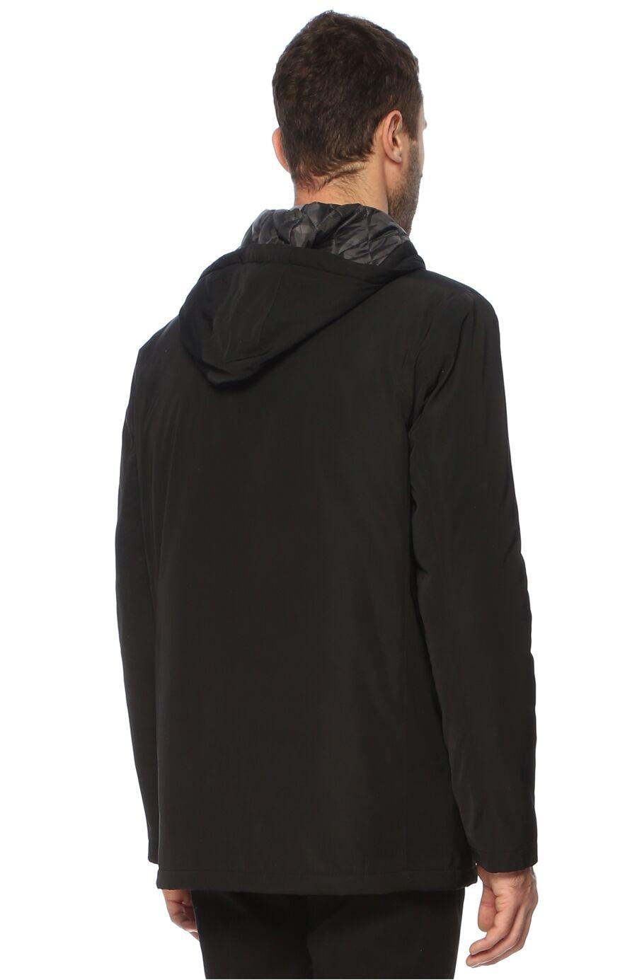 Slim Fit Siyah Casual Kaban