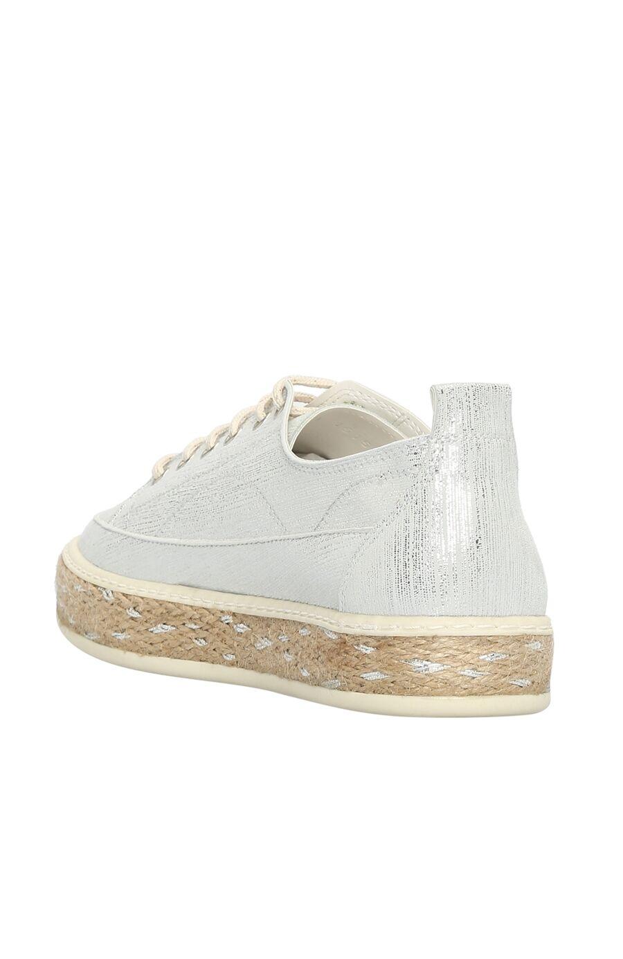 Nubuk Beyaz Kadın Ayakkabı