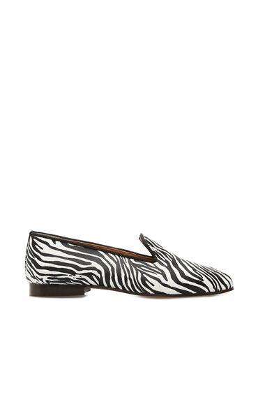 Fabula Siyah Beyaz Kadın Ayakkabı