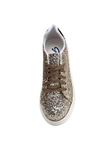 Altın Rengi Kadın Sneaker
