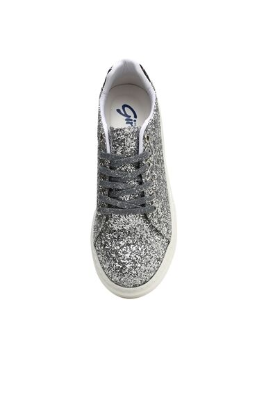 Gümüş Rengi Kadın Sneaker