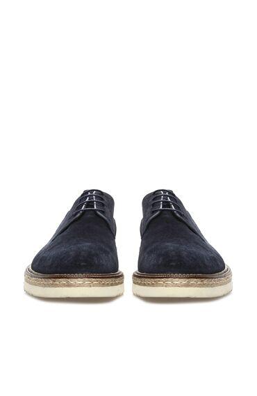 Süet Lacivert Ayakkabı