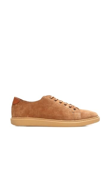 Süet Taba Erkek Ayakkabı