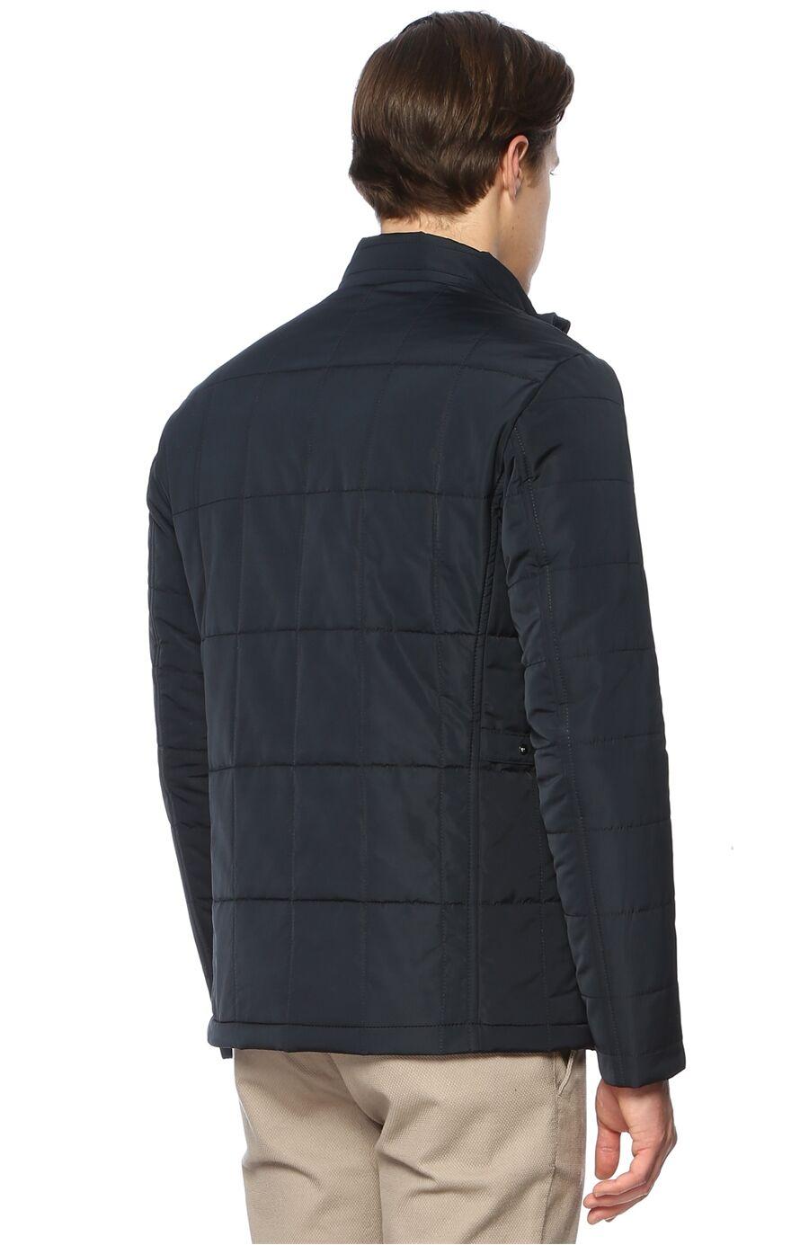 Kapitoneli Slim Fit Lacivert Coat Ceket