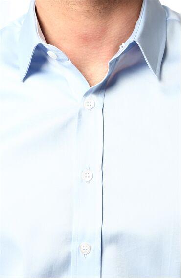 Slim Fit Açık Mavi Gömlek