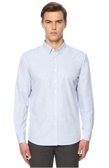 Kareli Mavi Gömlek