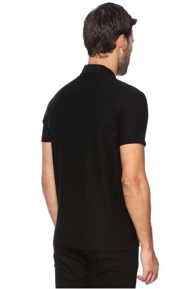 Polo Yaka Siyah Tshirt