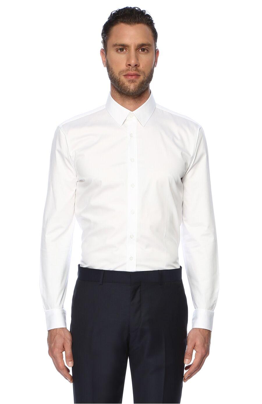 Network Slim Fit Beyaz Gömlek – 179.5 TL