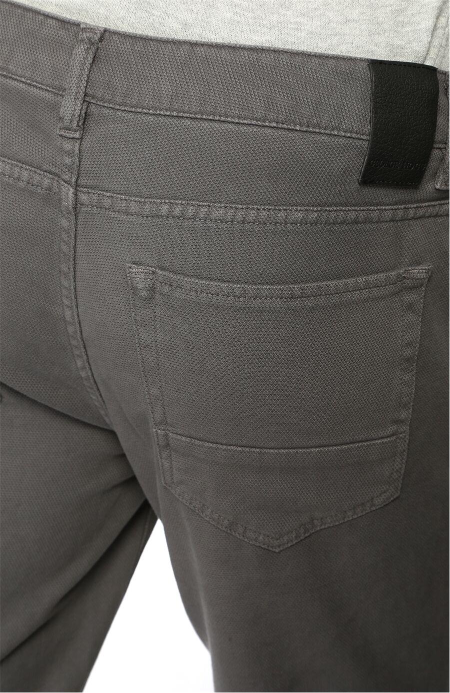 Slim Fit Antrasit Casual Pantolon