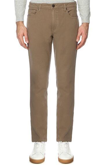 Slim Fit Vizon Casual Pantolon