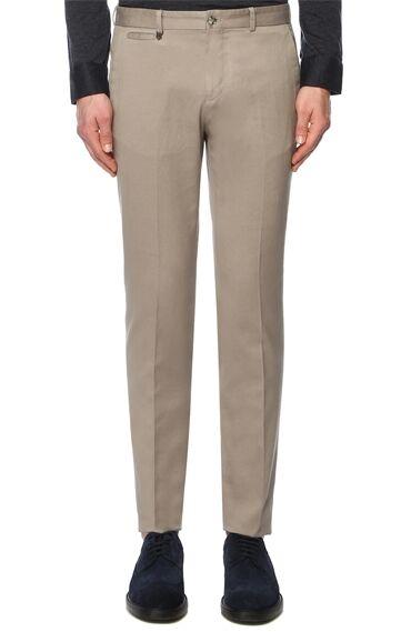 Slim Fit Vizon Pantolon