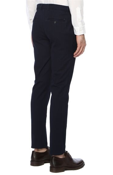 Slim Fit İndigo Pantolon