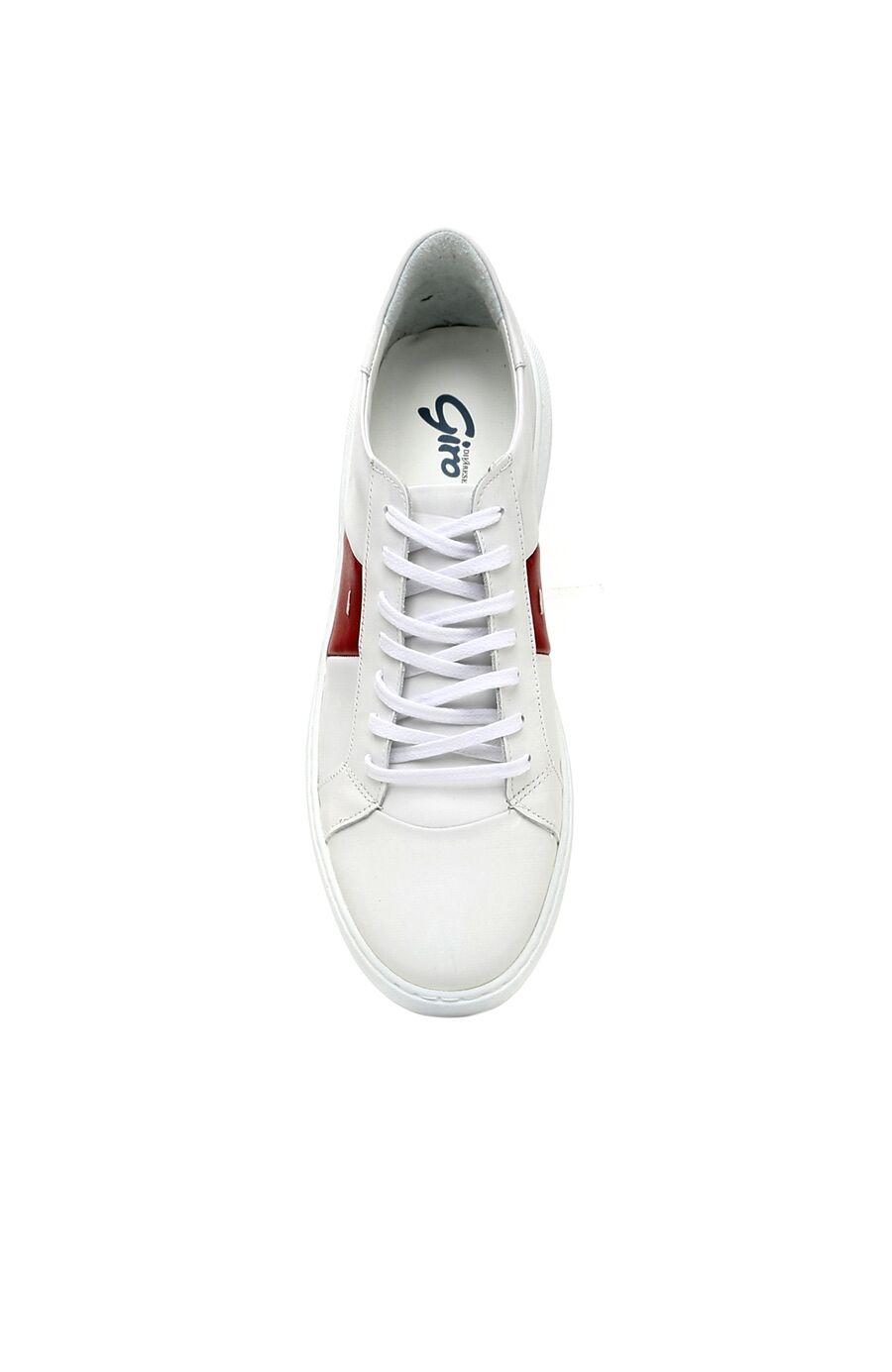 Beyaz Kırmızı Sneaker