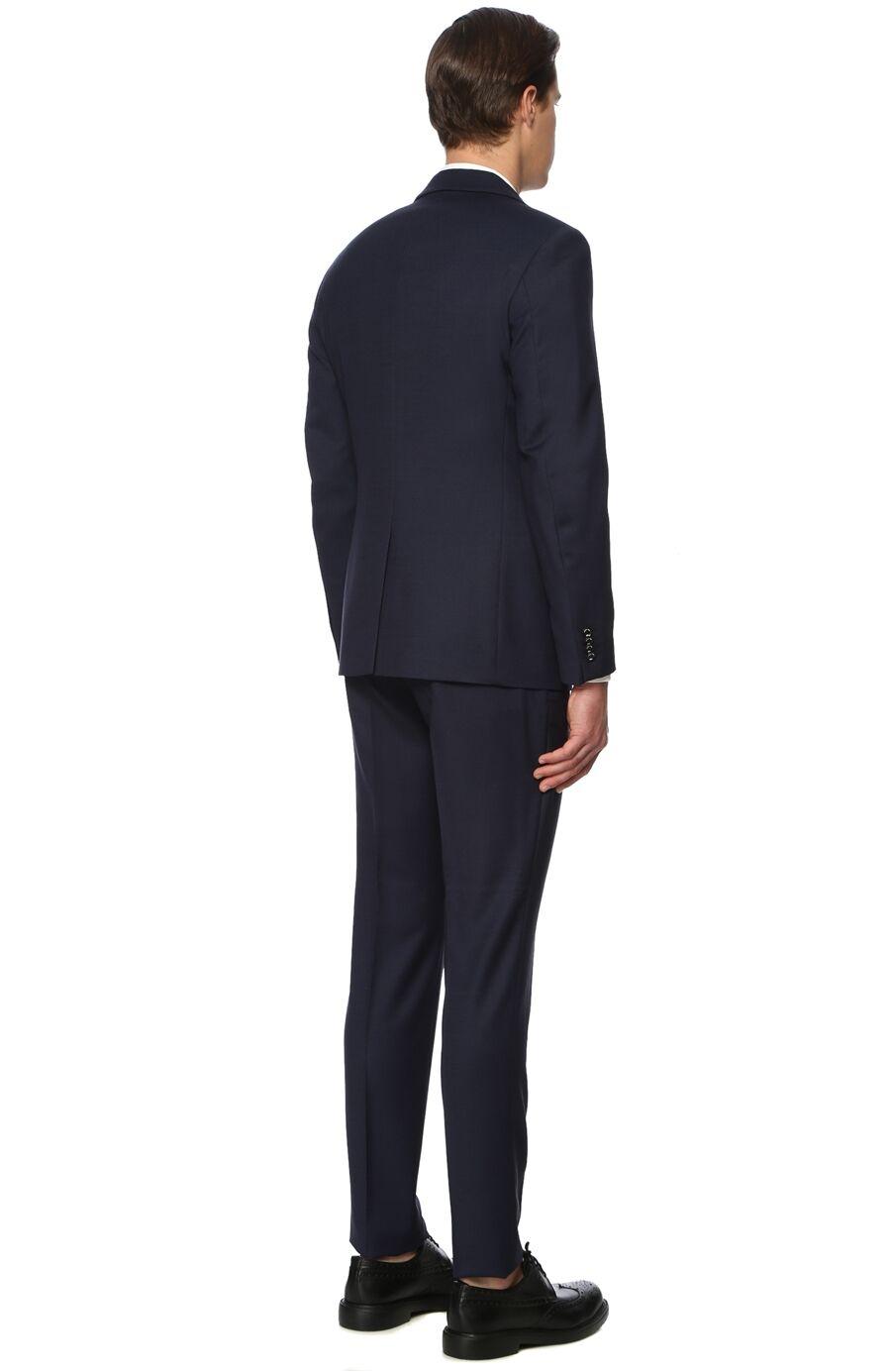 Slim Fit Lacivert Takım Elbise