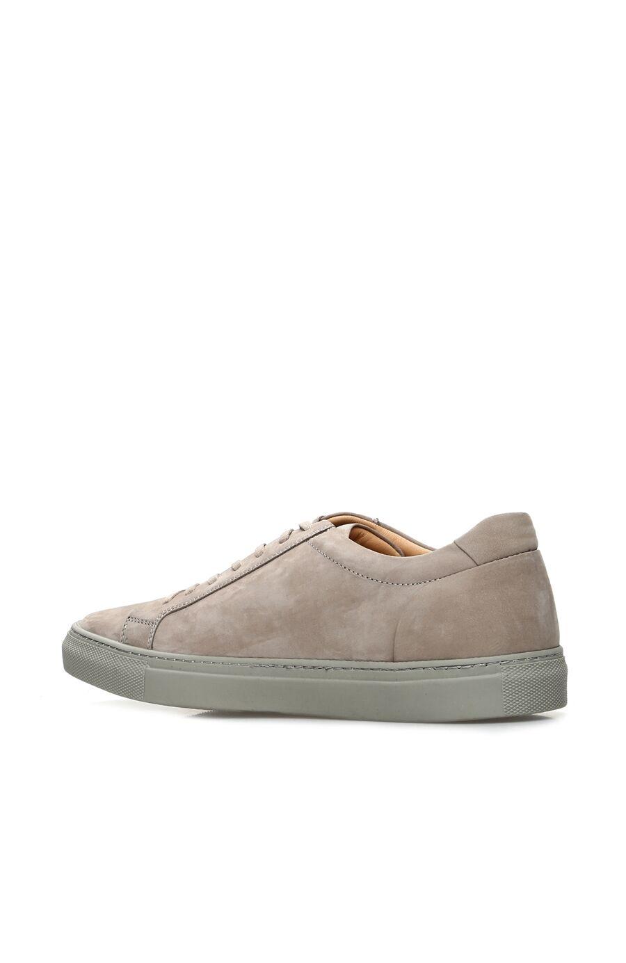 Bej Nubuk Erkek Sneaker