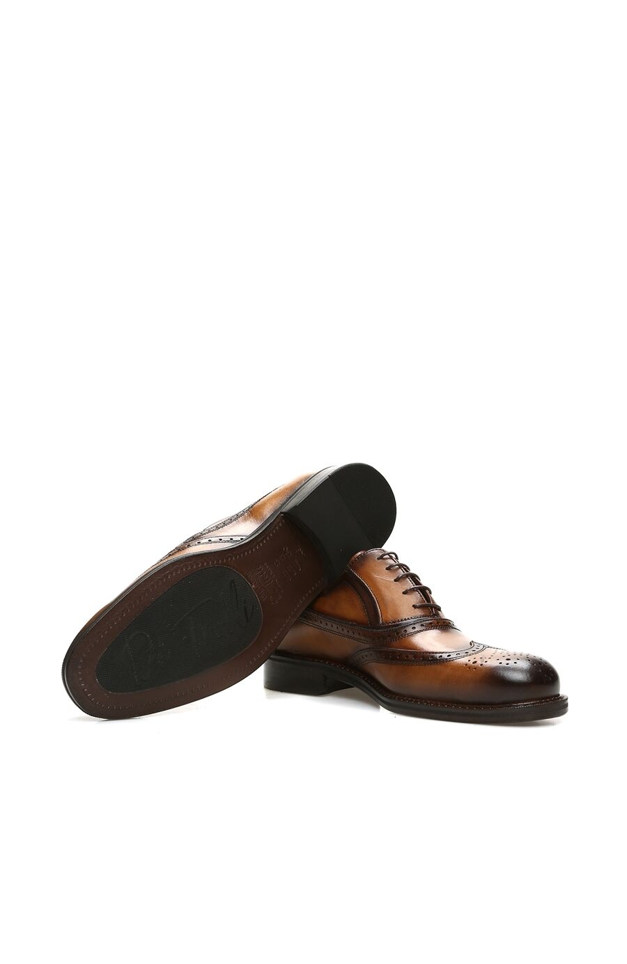 Zımbalı Taba Erkek Ayakkabı