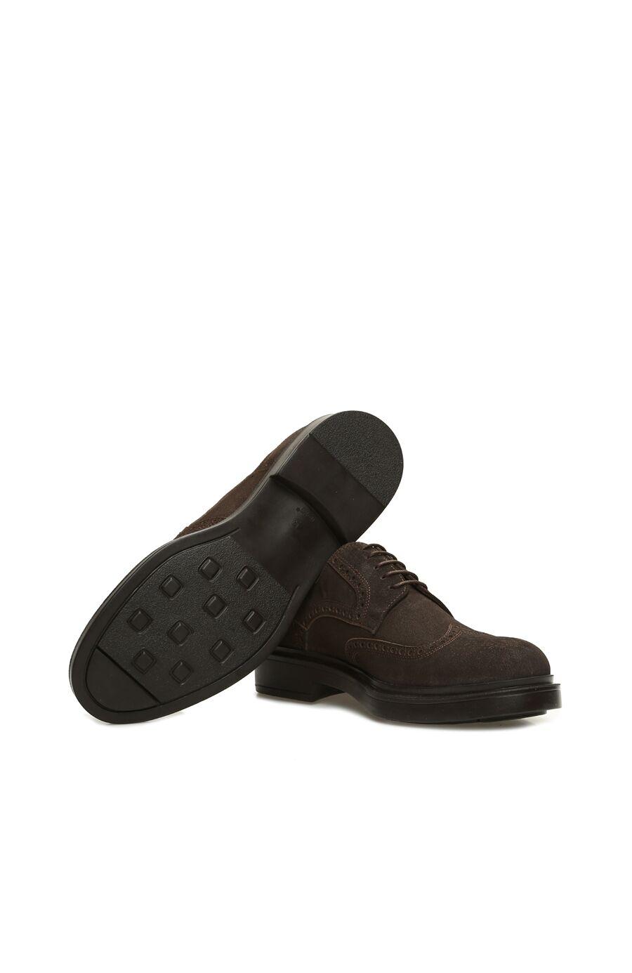 Zımbalı Haki Süet Erkek Ayakkabı
