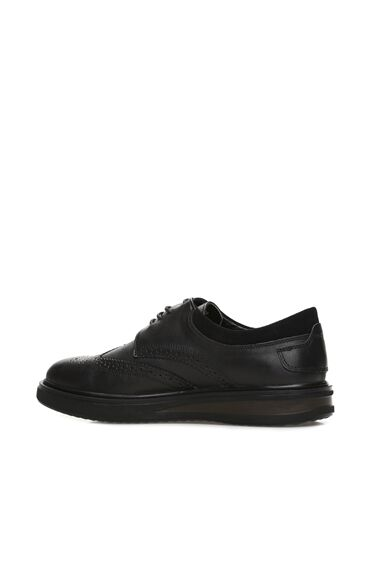 Zımbalı Siyah Erkek Ayakkabı