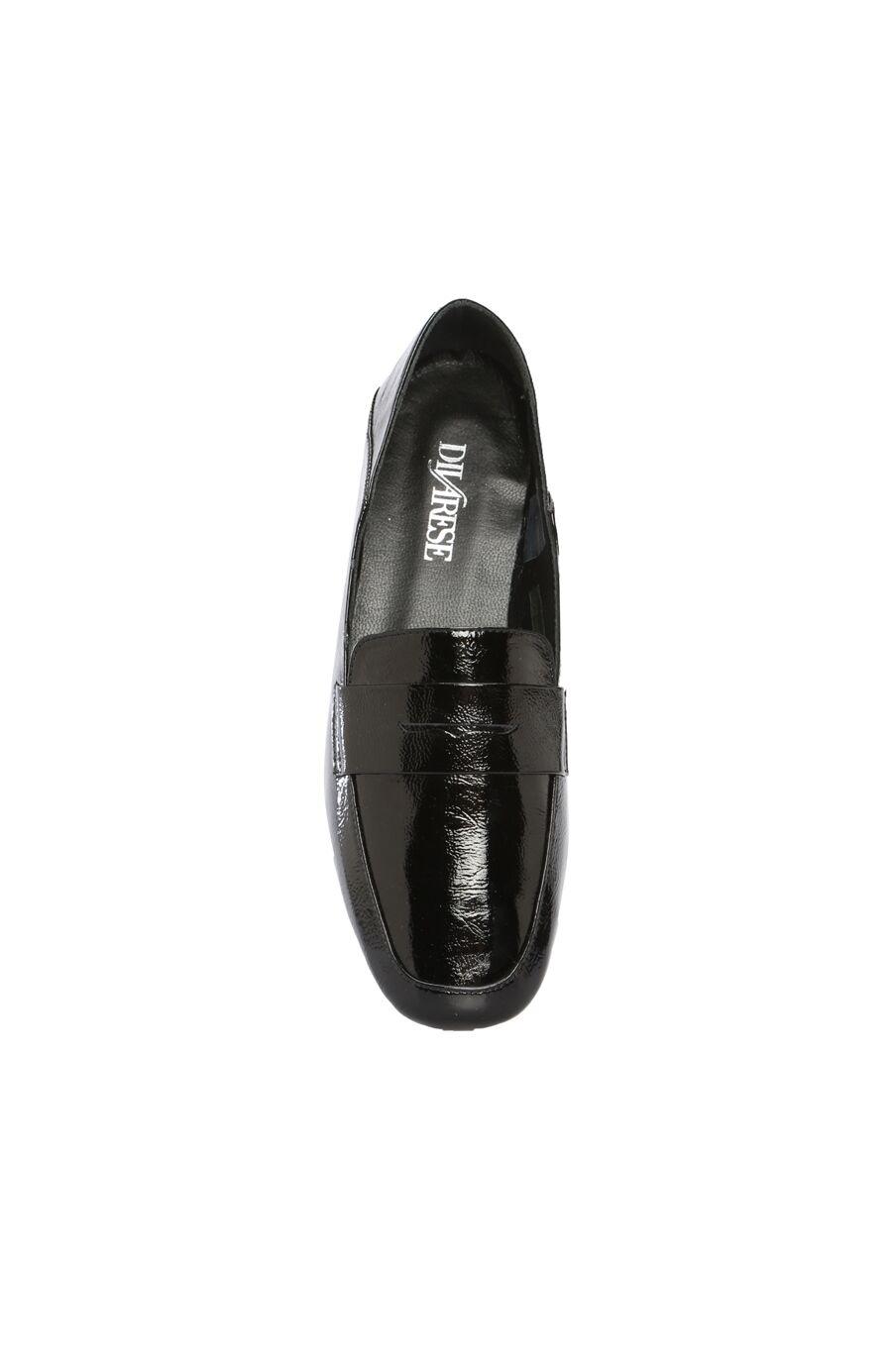 Siyah Rugan Loafer