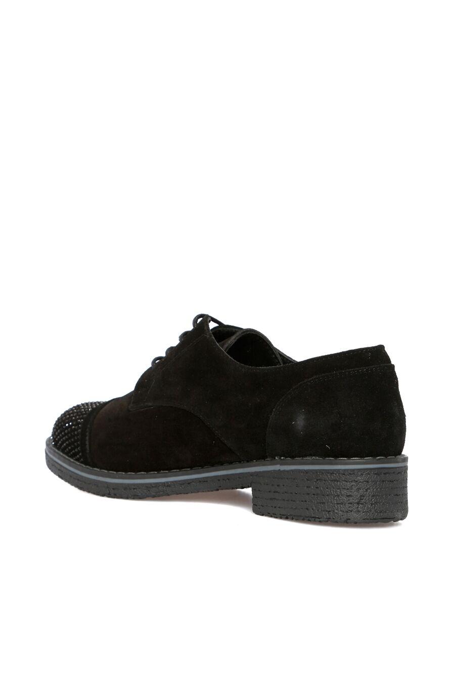 Siyah Süet Kadın Ayakkabı