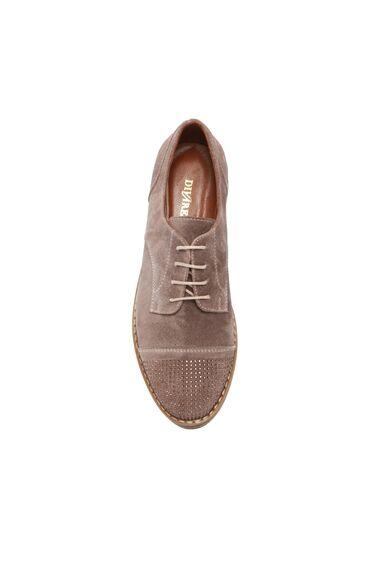 Kum Rengi Süet Kadın Ayakkabı