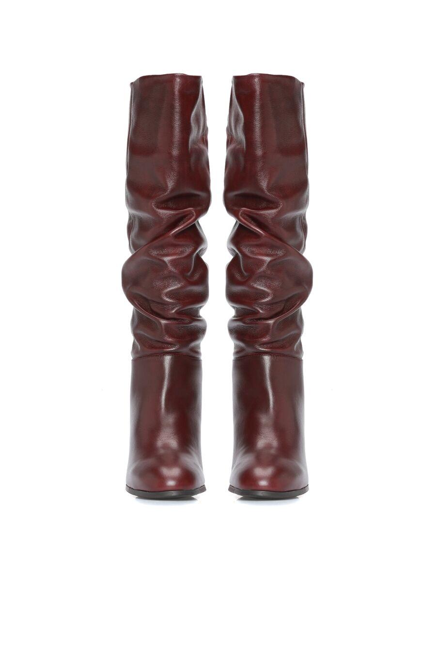 Bordo Kadın Çizme