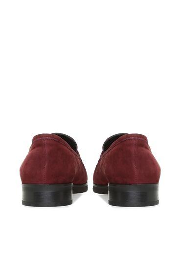 Bordo Süet Kadın Ayakkabı