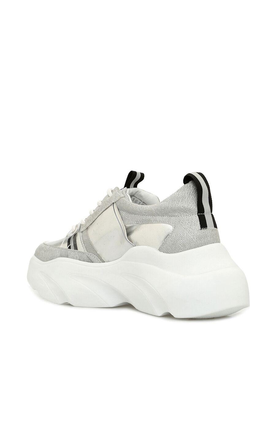 Gümüş Kadın Sneaker