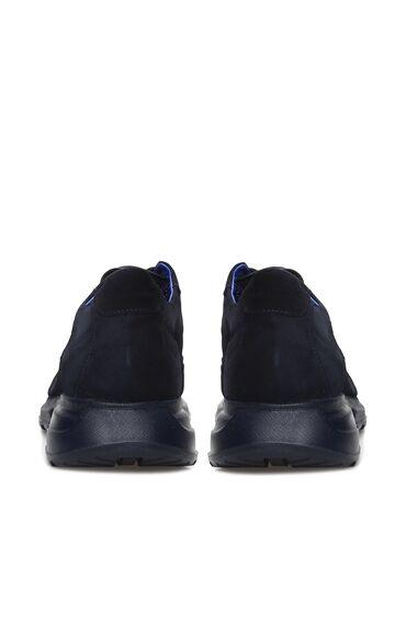Lacivert Erkek Süet Sneaker