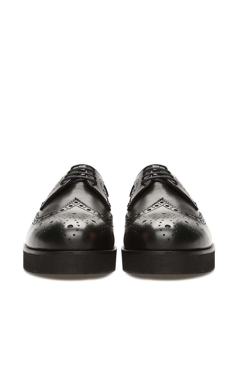 Siyah Kadın Deri Ayakkabı