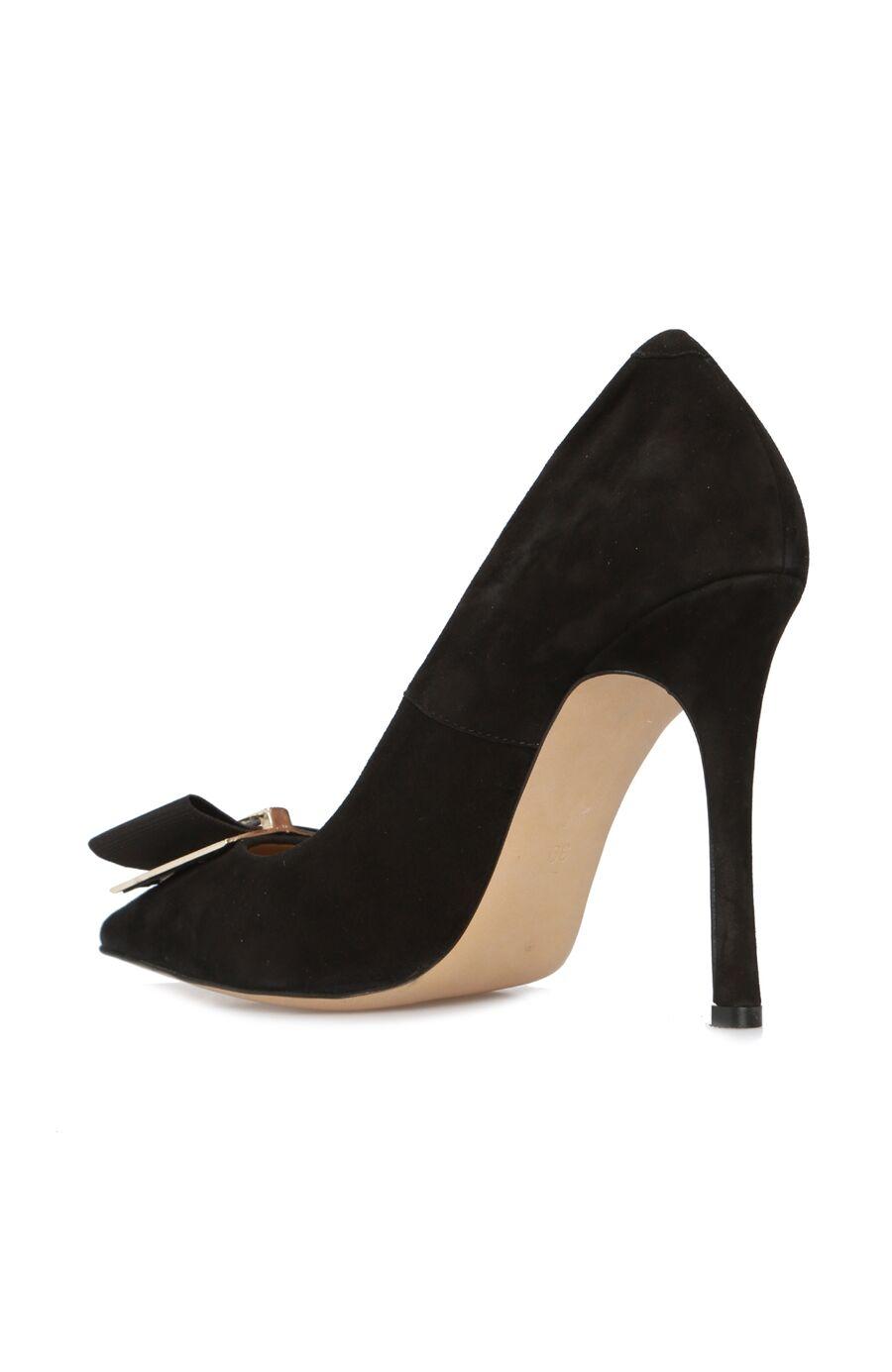 Siyah Süet Kadın Stiletto