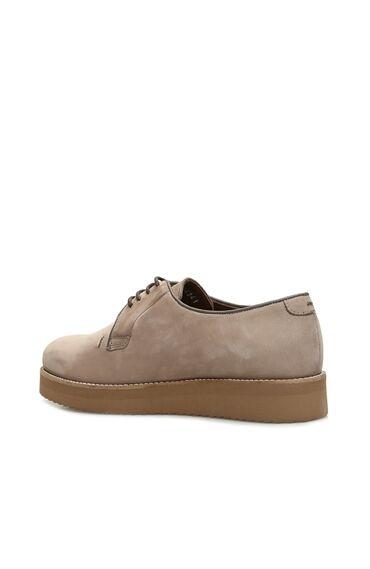 Vizon Nubuk Kadın Ayakkabı