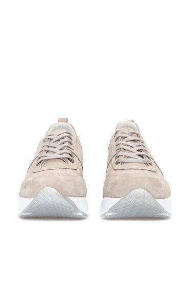 Açık Gri Nubuk Sneaker