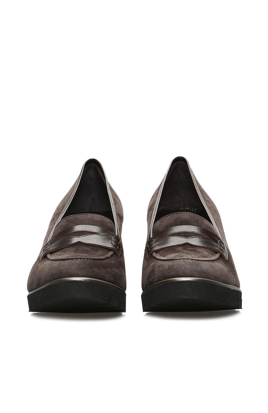 Gri Süet Kadın Ayakkabı
